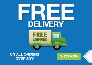 FREE Delivery on all orders over $200 USD